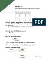 Tutorial on random sampling through Excel