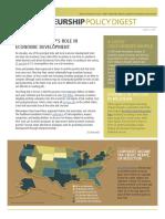Entrepreneurship Policy Digest June 2014
