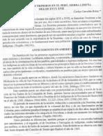 Doctrinas y doctrineros. Sierra Limeña, Siglos XVI-XVII por Carlos Carcelen Reluz
