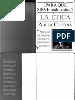 Adela Cortina - Para Qué Sirve Realmente La Ética