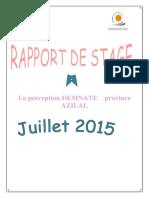 Rapport de Stage La Perception(1)