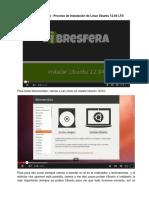 Proceso de Instalacion de Linux Ubuntu 12.04 LTS