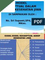 MODEL-MODEL KONSEPTUAL DALAM ASKEP KESEHATAN MENTAL  PSIKIATRI.pptx