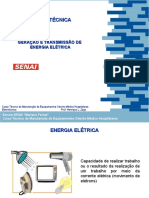 Aula 01 - Geracao e Distribuicao de Energia Eletrica