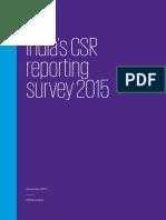 Kpmg Csr Survey 2015