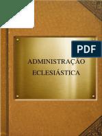 Administração eclesiastica-aula22
