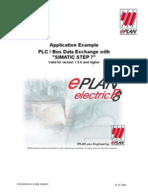 Eplan p8 Simatic S7 PLC | Input/Output | Microsoft Windows