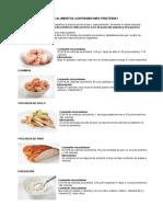Qué Alimentos Contienen Más Proteína