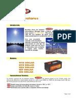 Baterias AUTOBAT Solares Eolicas