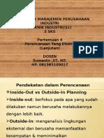 Manajemen Perusahaan Industri (P-4)