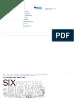 Six Sigma Green Belt Exam - ProProfs Quiz
