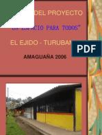 Perfil Del Proyecto El Ejido Turubamba