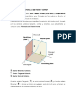 Fórmulas de Frenet-serret