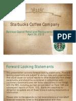 Starbucks Barclays Conf Presentation