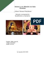 El Buddhismo y su difusión en Asia Oriental