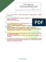 A.4 - Transporte de Nutrientes e Oxigénio - Teste Diagnóstico (2) - Soluções