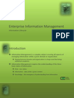 EIM Intro - Information Lifecycle