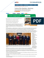 Diario Digital RD. Revista financiera, The Banker, destaca dinamismo economía dominicana.