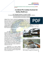 An Efficient Accident Prevention System for Indian Railways