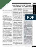 Boletín Tributario - Cuánto Demora en Retornar El Fedatario Fiscalizador Al Local Intervenido