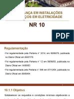 Segurança Do Trabalho NR. 10