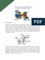 Prinsip kerja dan Analisa Kerusakan turbocharger.docx