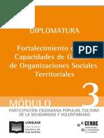Diplomatura Fortaalecimiento de Las Capacidades de Gestion de Organizaciones Sociales Territoriales