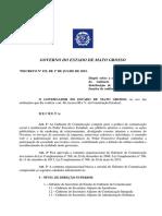Decreto Nº 152, De 01.07.15 - Gabinete de Comunicação - Republicado Em 27.07.15