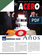 Alma de Acero - Gerdau AZA - 2003 - Noviembre