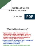 Fundamentals of UV-Vis Spectrophotometer