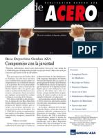 Alma de Acero - Gerdau AZA - 2004 - Enero