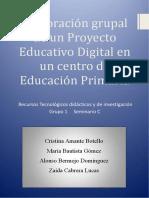 Proyecto Educativo Digital