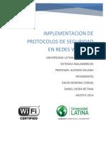 Universidad Latina Proyecto Redes Inalambricas 802.1X