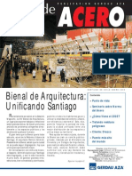 Alma de Acero - Gerdau AZA - 2005 - Enero