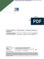 Norma INTE ISO 14046_2015 Huella de Agua
