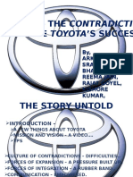 The Contradictions That Drive Toyota's Success