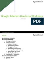 Adwords Hands-On Workshop