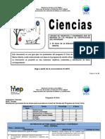 Ciencias III Ciclo 2016