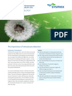 Sysmex SEED the Importance of Reticulocyte Detection