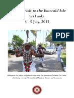 VIAJES DE SAI BABA POR EL MUNDO 2015 07 Srilanka English