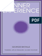 Georges Bataille Inner Experience