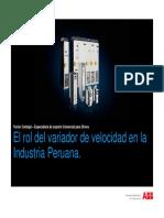 El rol del variador de velocidad en la Industria Peruana.pdf