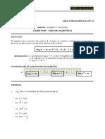 MA25 Logaritmos, Función Logarítmica