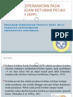 Asuhan Keperawatan Ketuban Pecah Prematur (Kpp)