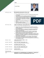 American Type Ali Bin Nadeem Professional CV All EXP 2016 v3