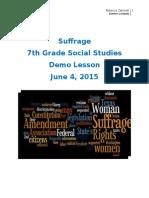 suffrage demolp