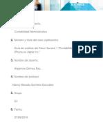 """Guía de análisis del Caso Harvard 2 """"Contabilidad para el iPhone en Apple Inc."""""""