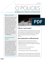 Complete Guide to Making Your Policy Effective