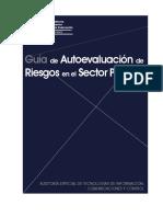 Guía de autoevaluación de riesgos en el sector público