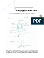 Testimonios de Mujeres Zetas, Narrativas de Violencia Alma y Juana